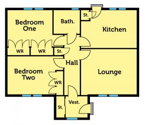 Airlie Floorplan