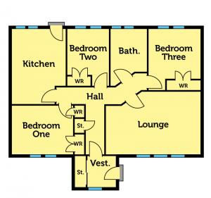 Cortachy Floorplan