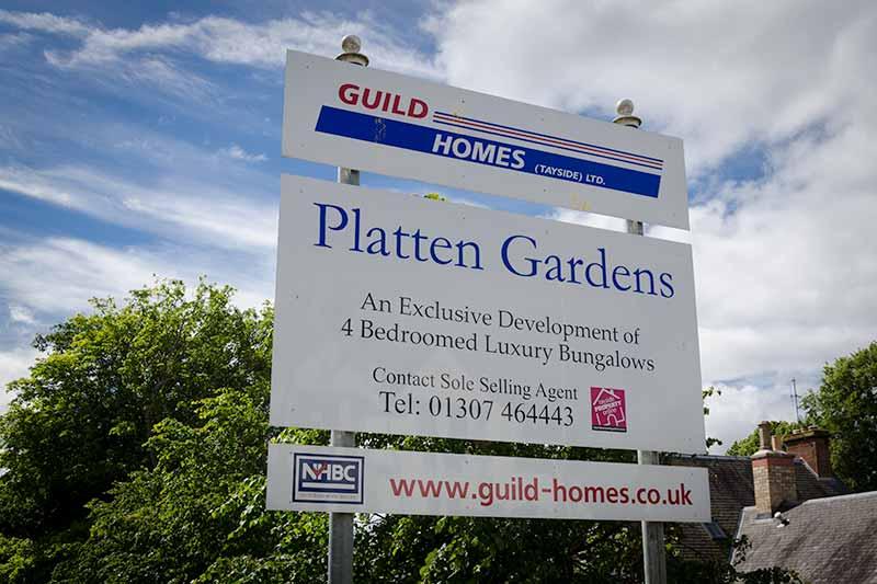 Platten Gardens, Kirriemuir